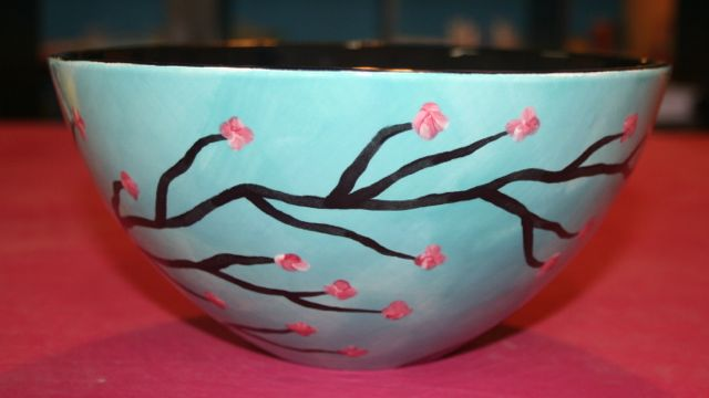 Gallery for pottery painting ideas for bowls - Painting ideas for pottery ...